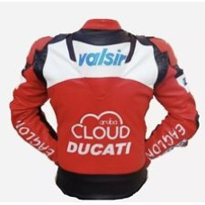 Ducati Cloud Custom Made Best Quality Racing Leather Jacket For Mens