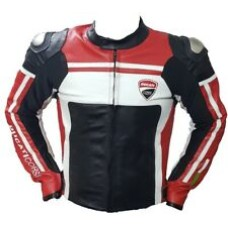 Custom Made Ducati Best Quality Leather Jacket For Mens