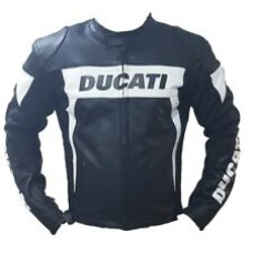 Ducati Custom Made Motorbike Racing Leather Jacket
