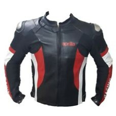 Aprili Racing Custom Made Best Quality Racing Leather Jacket For Mens