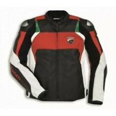Ducati Corse Custom Made Best Quality Racing Leather Jacket For Mens