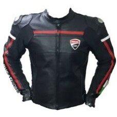 Best Quality Custom Made Ducati Leather Jacket For Mens