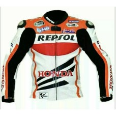 Custom Made Honda Repsol Best Quality Leather Jacket For Mens