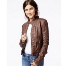 Best Quality Fashion Original Leather Jacket For Ladies