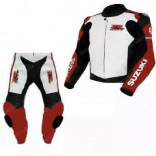RGSX Suzuki Custom made Best Quality Leather Motorbike Racing Suit
