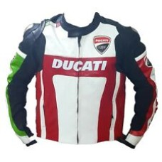 Ducati Motorbike Racing Bsst Quality Leather Jacket Include Shipping