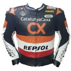 Repsol CX Custom Made Best Quality Racing Leather Jacket For Mens