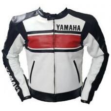 Custom Made Yamaha Leather Jacket For Mens