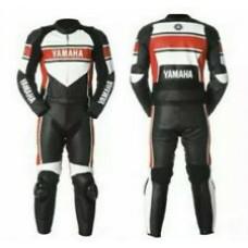 Yamaha Custom made Best Quality Leather Motorbike Racing Suit