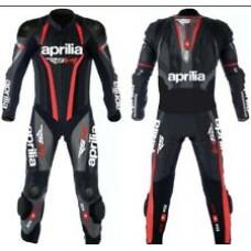 Custom Made Aprilia Best Quality Leather Motorbike Racing Suit