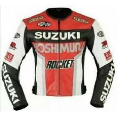 RGSX Suzuki Rocket Custom Made Best Quality Racing Leather Jacket