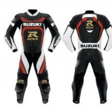 Suzuki RGSX Custom Made Best Quality Leather Motorbike Racing Suit