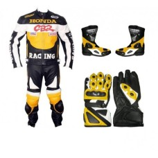 Men 2015 CBR Motorcycle Suit Set Biker Racing Jacket
