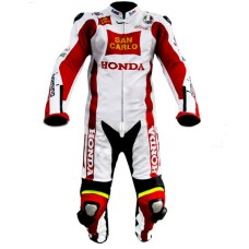Unbeaten Racers Honda Repsol Motorbike Leather Suits