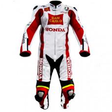 Unbeaten Racers Honda Repsol Motorbike Leather Suits
