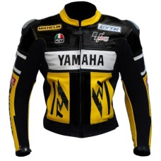 Yamaha YZF-R1 Rossi R6 R125 Motorbike Motorcycle Leather Jacket