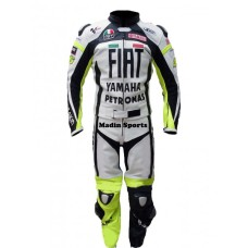 Yamaha Fiat Petronas Motorbike Leather Suit For Men's