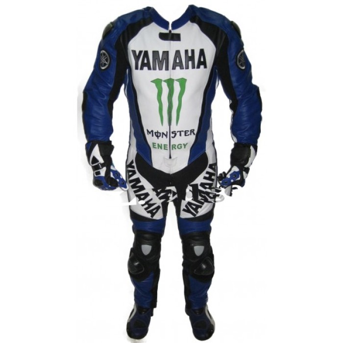 YAMAHA Motorcycle Leather Suit Motorcycle Leather Racing Biker Suit