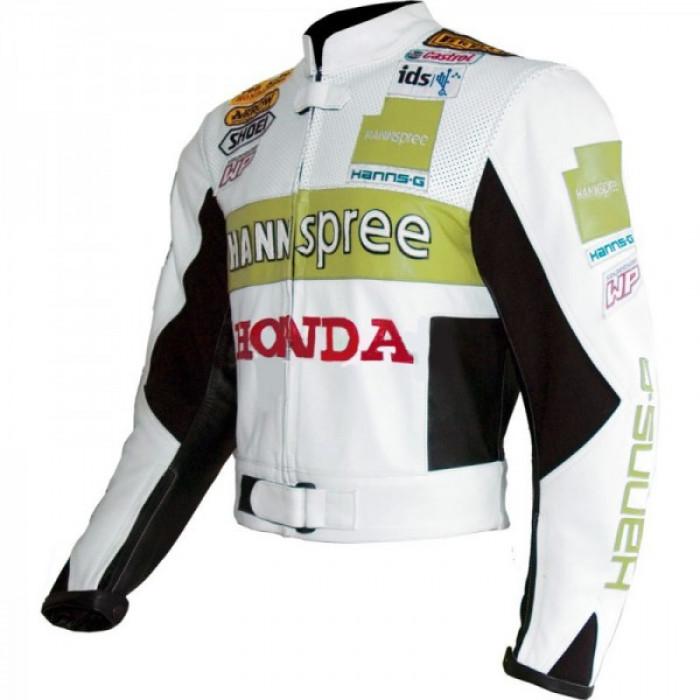 HONDA Hannspree cbr Limited Edition Motorbike Motorcycle LEATHER Jacket