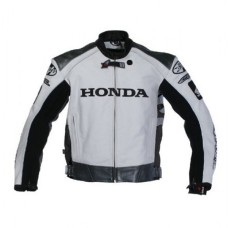HONDA FASCINATING BIKE LEATHER JACKET FOR MEN STREET RACING