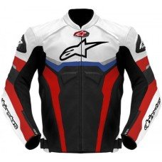Alpinestars Celer Leather black white Jacket