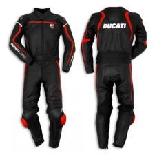 Ducati Corse 14 two piece black suit