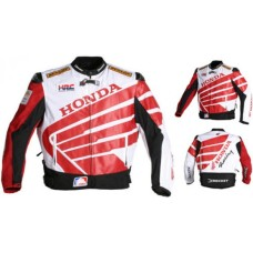 HONDA MOTORBIKE JACKET, HONDA MOTORCYCLE LEATHER JACKET