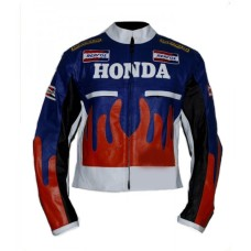 HONDA REPSOL MOTORCYCLE RACING LEATHER JACKET