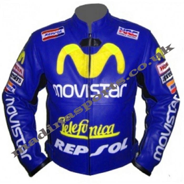 Moviestar Honda Repsol Motorcycle Leather Jacket