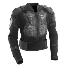 Motorcycle Full Body Armor Jacket Spine Chest Shoulder Protection