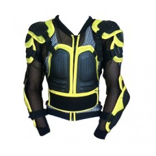 Motorcycle Spinal protector Yellow Jacket Spine Chest Shoulder protector