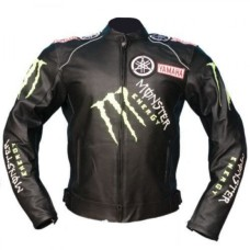 Yamaha Motorcycle leather jackets Motorbike Racing biker jacket
