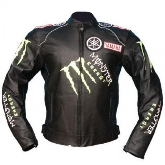 Yamaha Motorcycle leather jackets Motorbike Racing biker jacket
