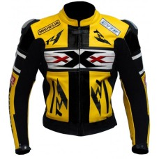 Vin Diesel XXX YZF-R1 R6 R125 Yellow Motorcycle Leather Jacket