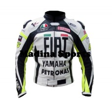 Yamaha Fiat Petronas Motorbike Leather jacket For Men's