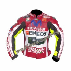 YAMAHA MOVISTAR MOTORBIKE MOTORCYCLE MOTO GP LEATHER JACKET