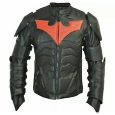 Batman Custom Made Best Quality Racing Leather Jacket For Mens