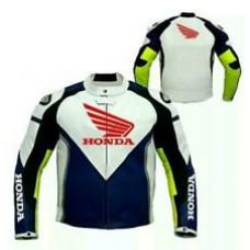 Custom Made Best Quality Honda Leather Jacket For Mens