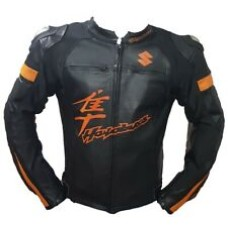 Hayabusa Custom Made Best Quality Racing Leather Jacket For Mens