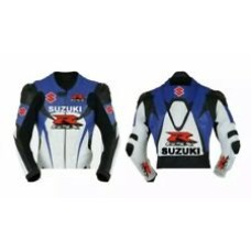 Suzuki RGSX Custom Made Best Quality Racing Leather Jacket For Mens