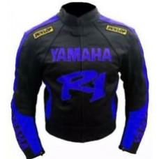 Yamaha R1 Custom Made Best Quality Racing Leather Jacket
