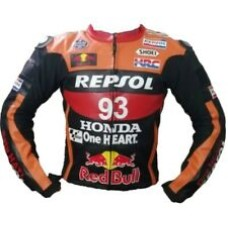 Custom Made Best Quality Honda Repsol Leather Jacket For Mens