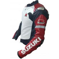 Custom Made Best Quality Suzuki RGSX Leather Jacket For Mens