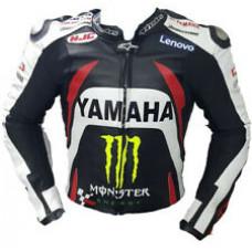 Custom Made Best Quality Yamaha Leather Jacket For Mens