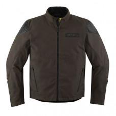 Icon 1000 Squalborn Motorcycle Leather Jacket