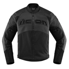 Icon Contra 2 Perforated Motorcycle Leather Jacket
