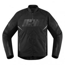 Icon Hooligan Motorbike Leather Jacket