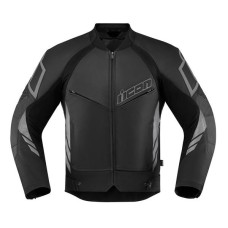 Icon Hypersport 2 Motorcycle Leather Jacket