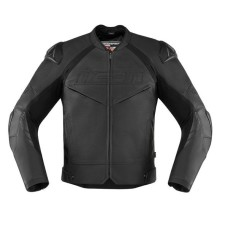 Black High Quality Motorcycle Leather Jacket