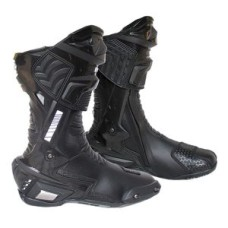 Black Motorbike Leather Boot